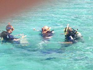 Tijdens de duikcursus bij Dive Friends Bonaire