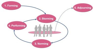 De fasen van groepsvorming