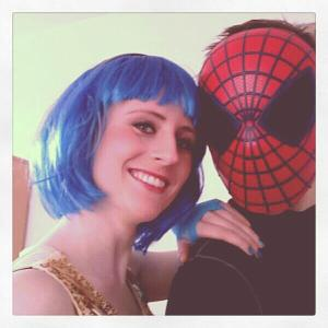 Disco-girl & Spiderman, Carnaval 2013