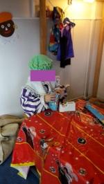 Cadeaus inpakken...