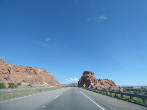 Historic Route 66, somewhere between Albuquerque and Holbrook