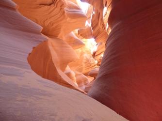The Antelope Canyon